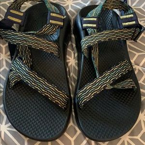 Boys Rio Green Chaco Sandals Size 4